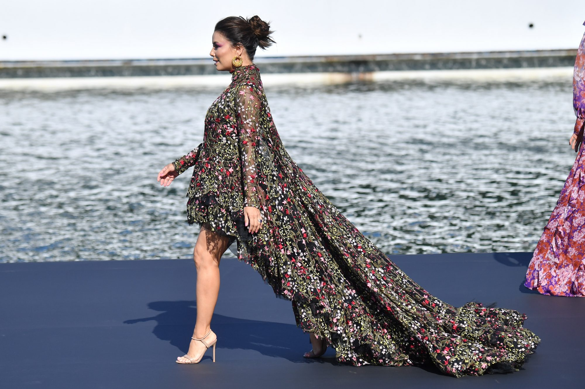 Eva Longoria, famosa, estilo, pasarela