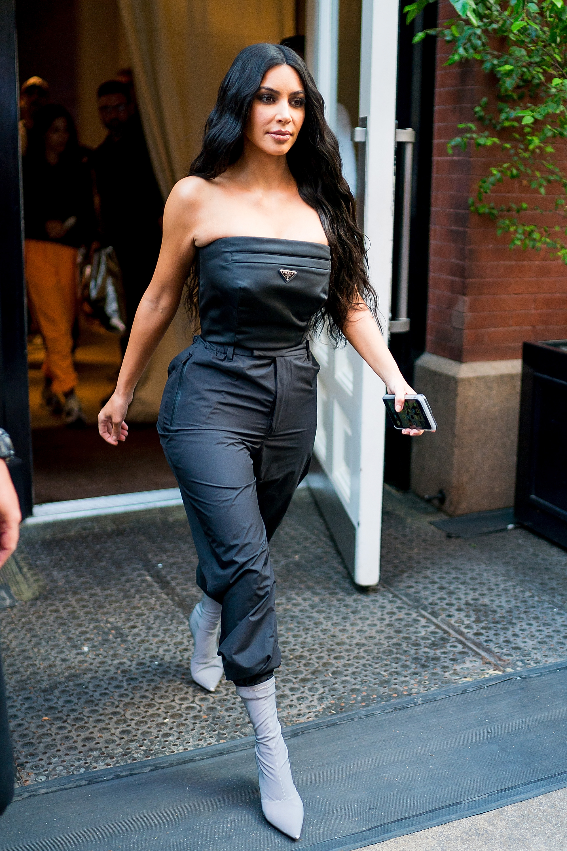 look del día, alfombra roja, estilo, famosa, Kim Kardashian