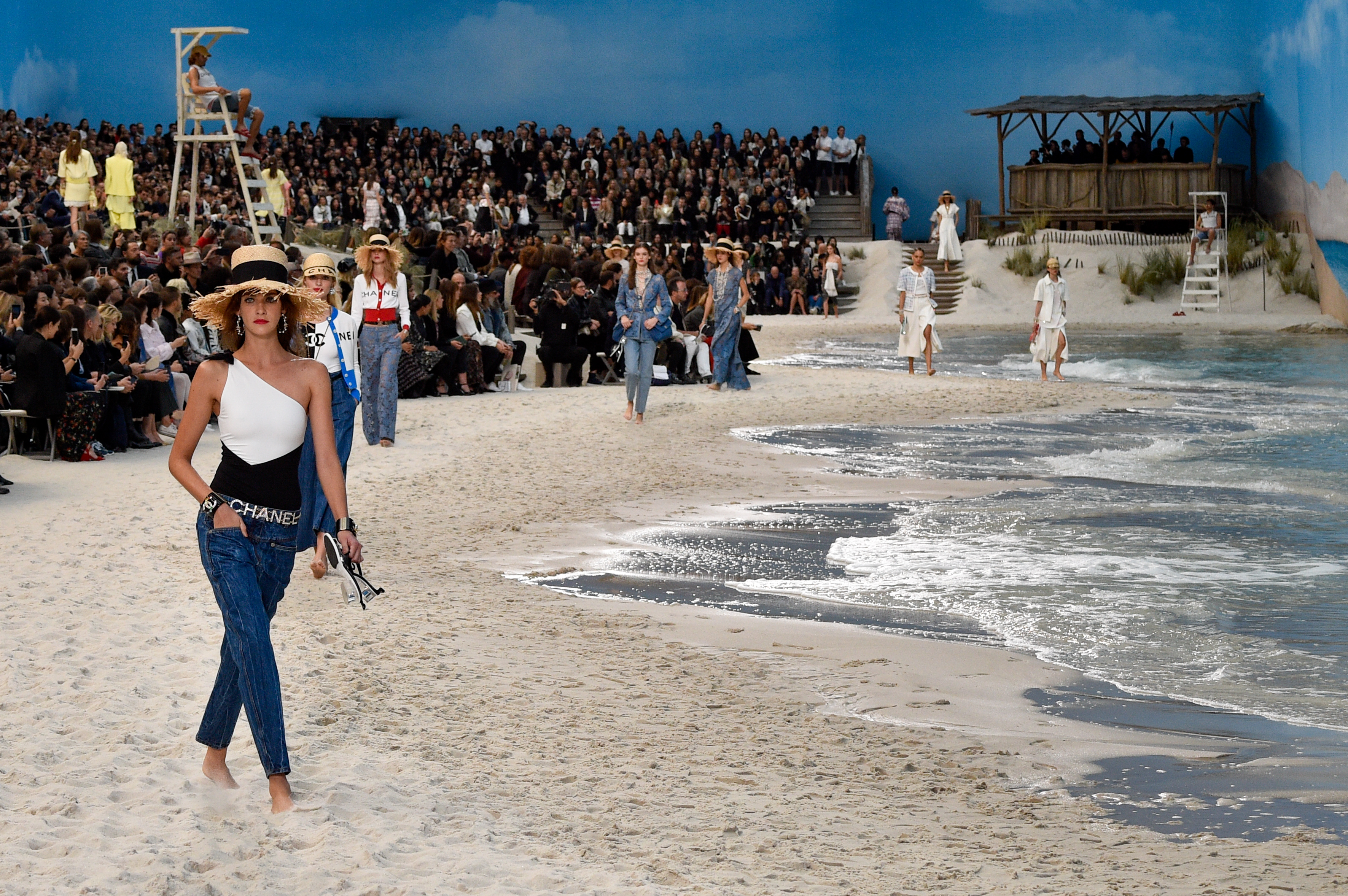 Chanel, playa, paris