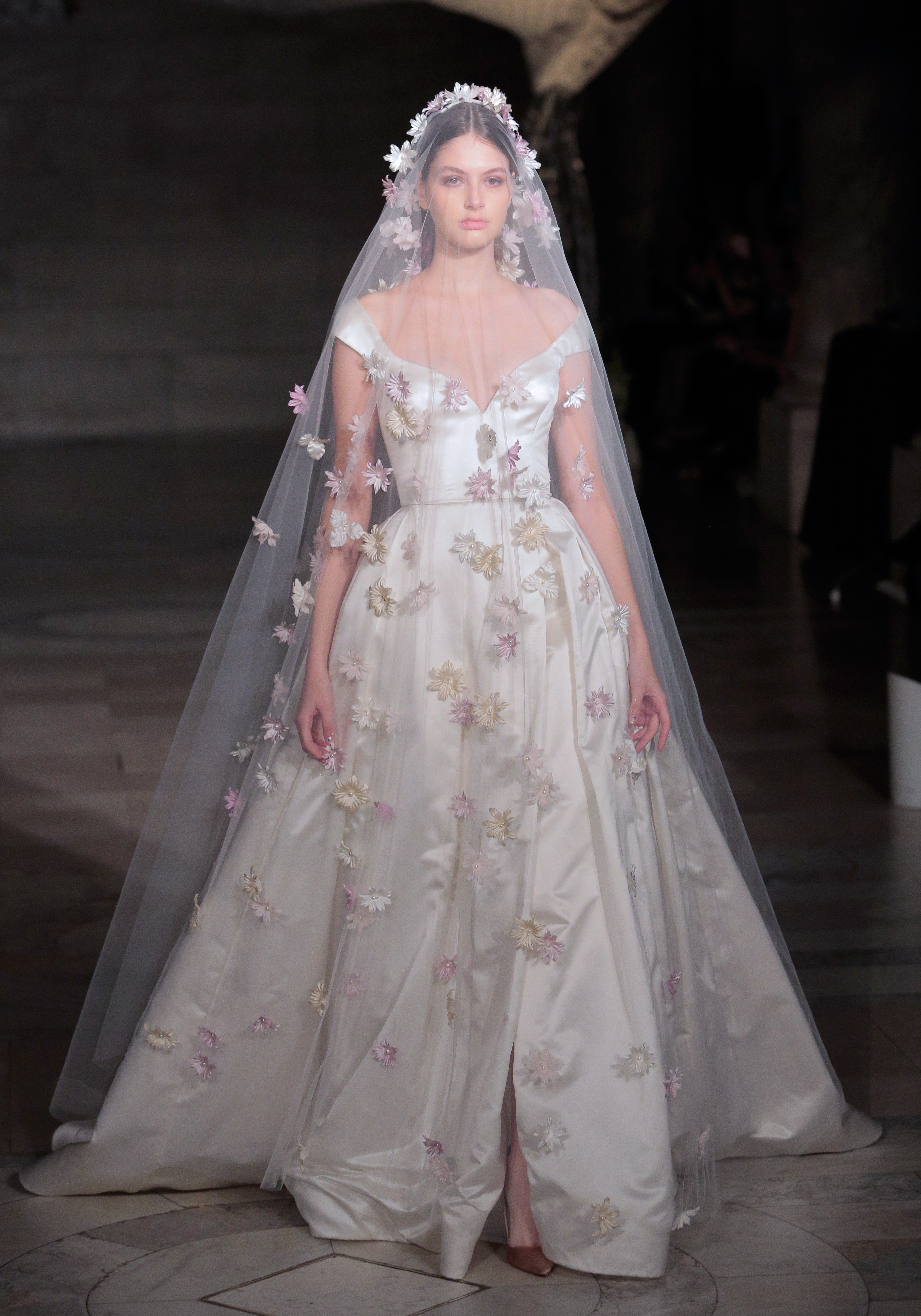 Reem Acra, Bridal Fall 2019