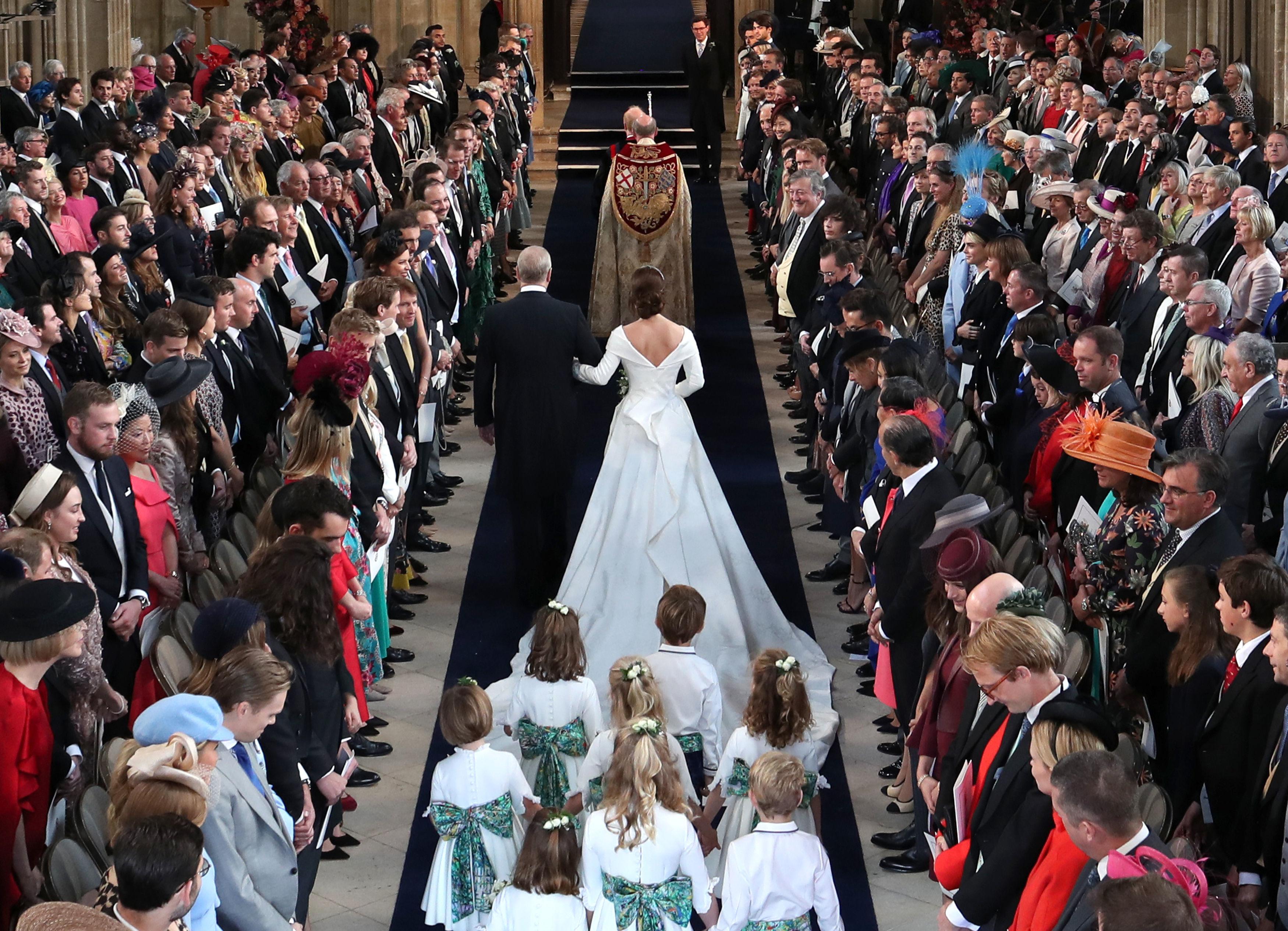 Príncipe Andrew, Princesa Eugenie