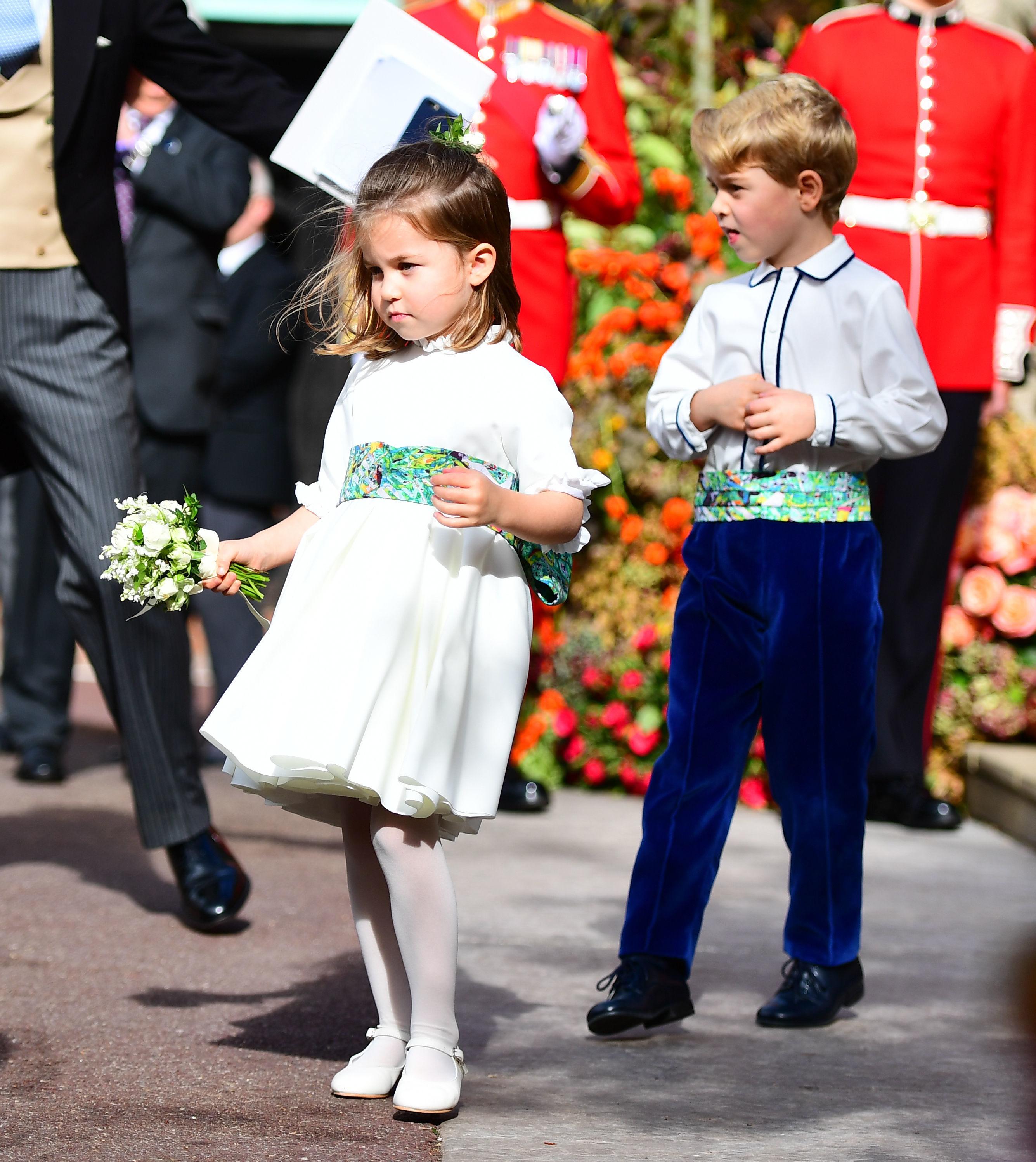 Princesa Charlotte, Príncipe George