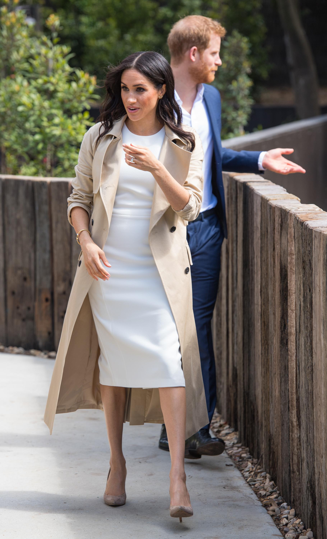 Meghan Markle, looks, australia, aretes, princesa Diana