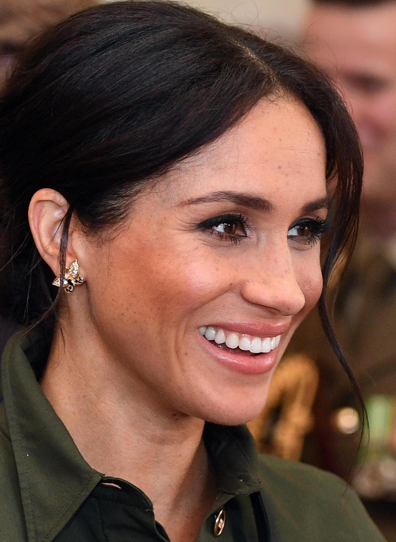 Meghan Markle, looks, australia, princesa diana, aretes