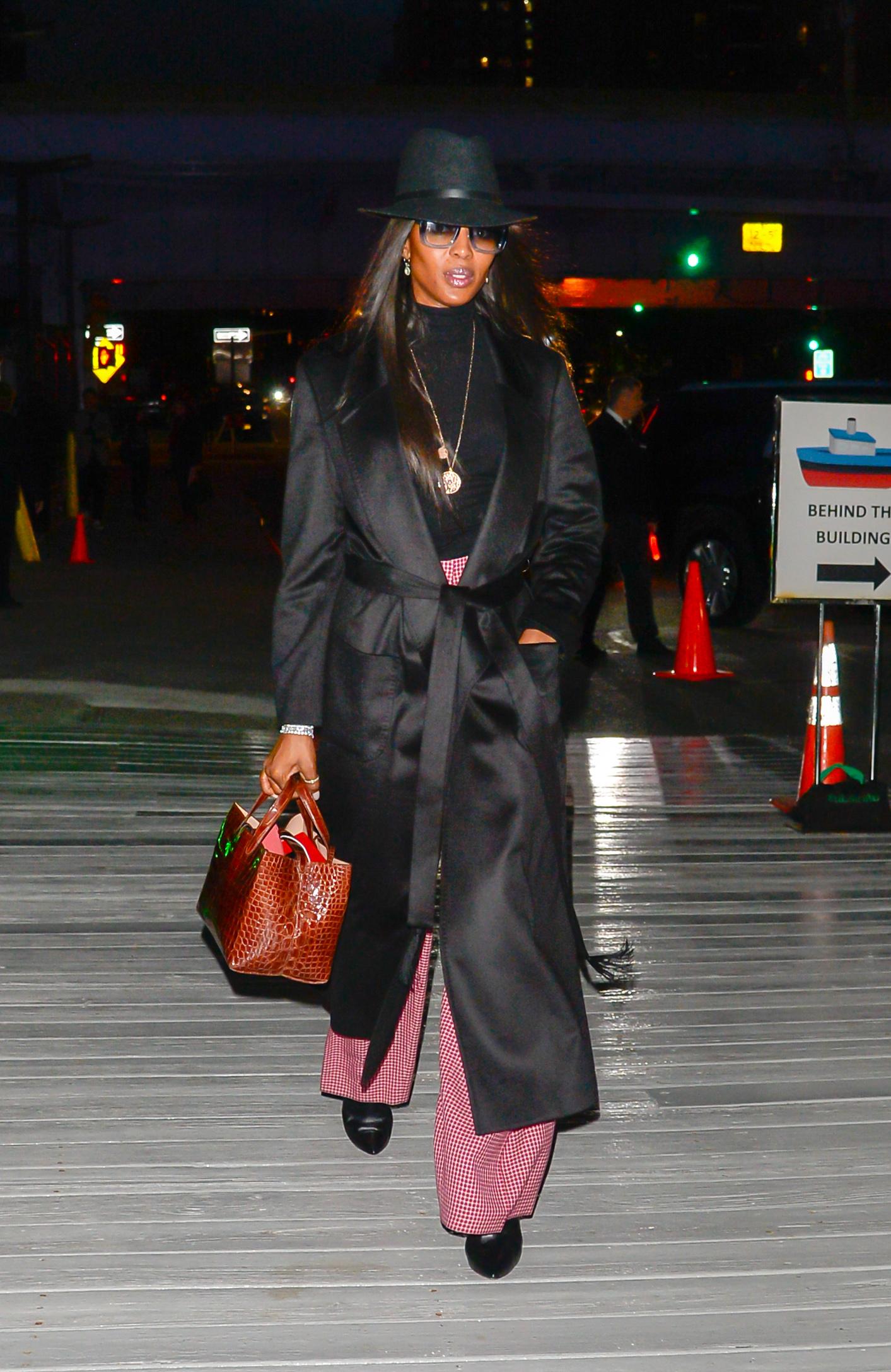 Naomi Campbell, Nueva York