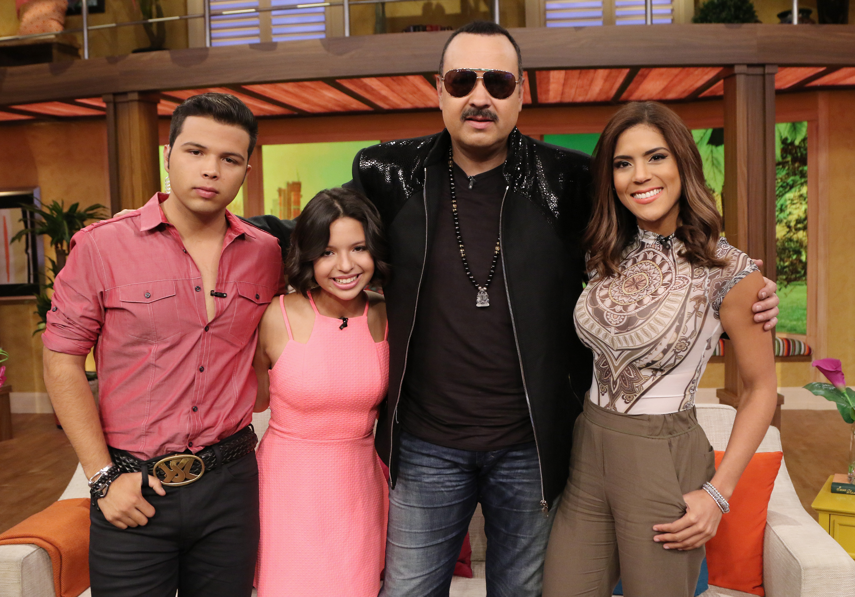 Pepe Aguilar, Ángela Aguilar, Lorenzo Antonio Aguilar, Francisca Lachapel