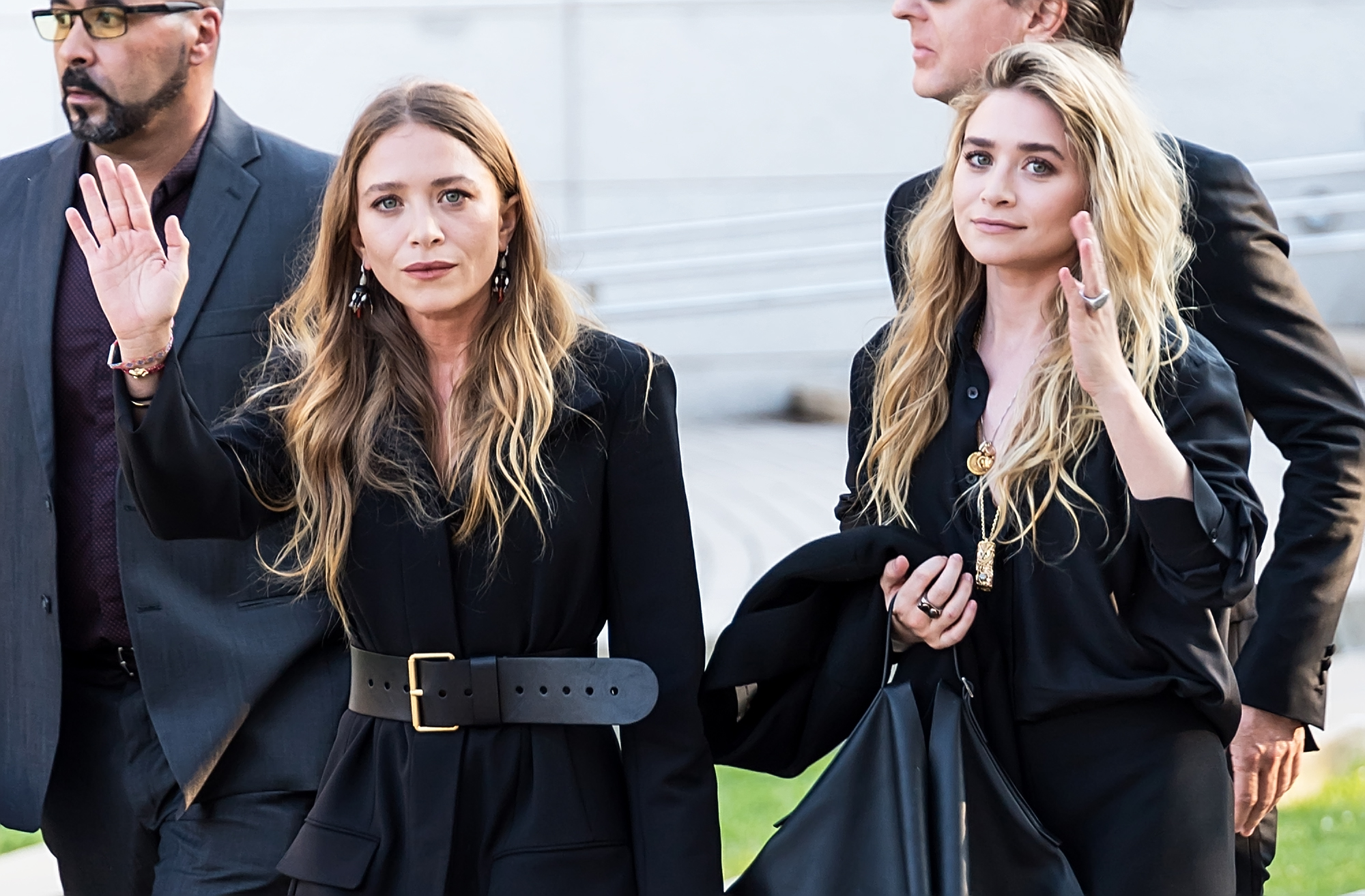 Mary-Kate Olsen and Ashley Olse