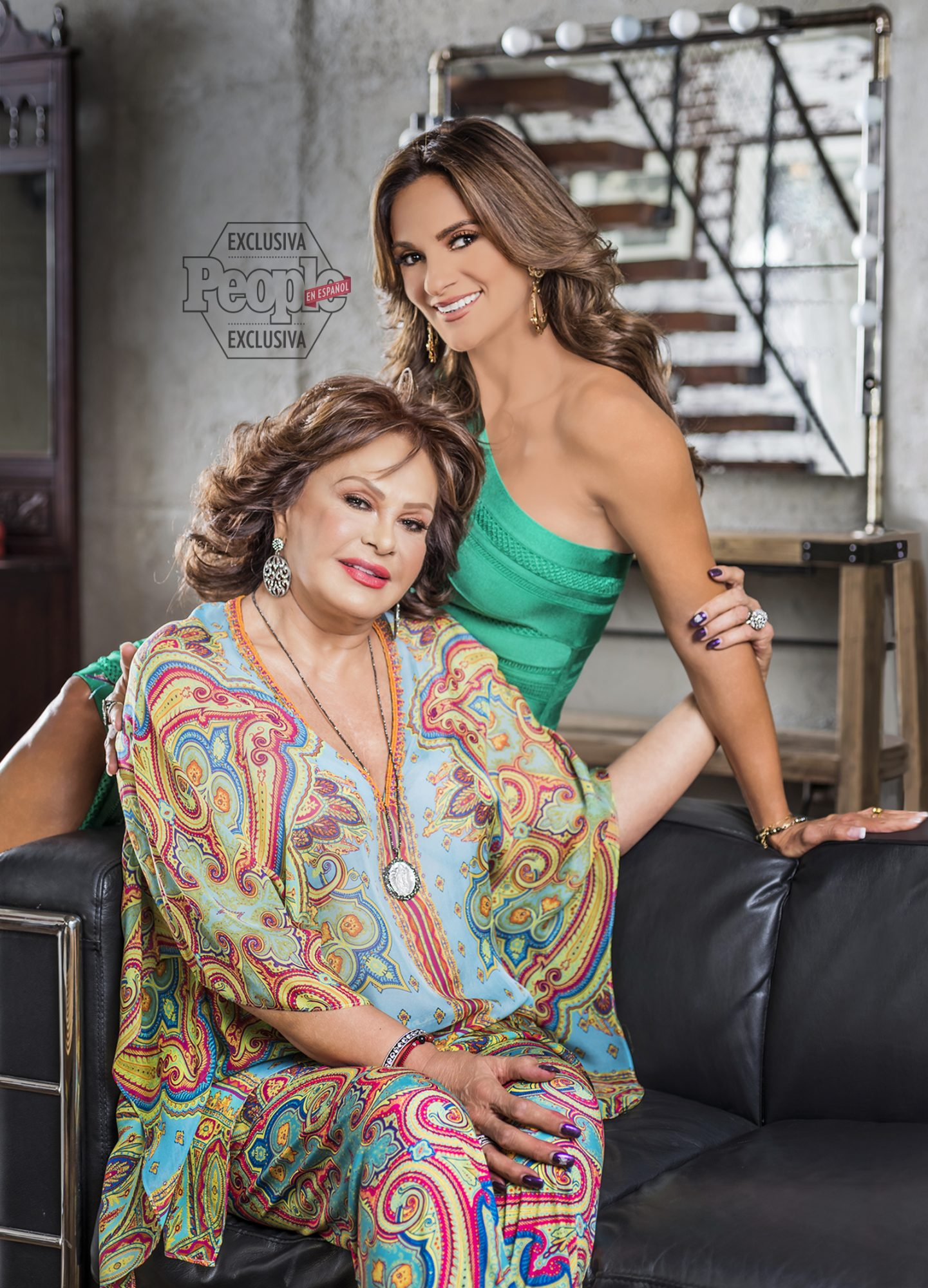 Mariana Seoane y su mamá Maris Stella Garcia