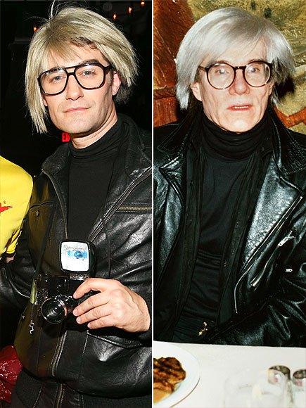 Matthew Morrison, Andy Warhol