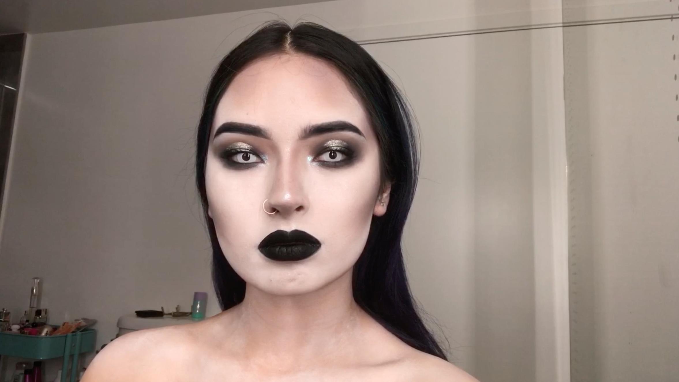 maquillaje, Halloween, Laura Sánchez, Video, tutorial