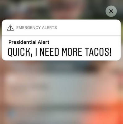 Memes de la alerta presidencial Donald Trump