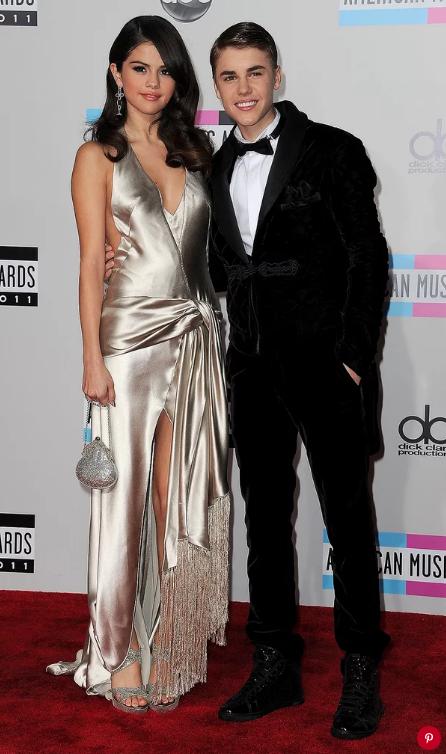 Selena Gomez and Justin Bieber in 2011