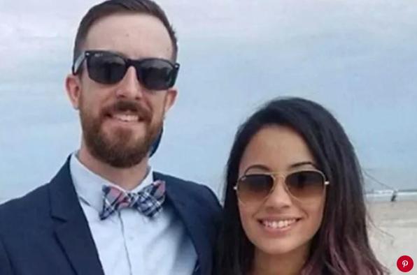Josh Bryne and his wife Bianca