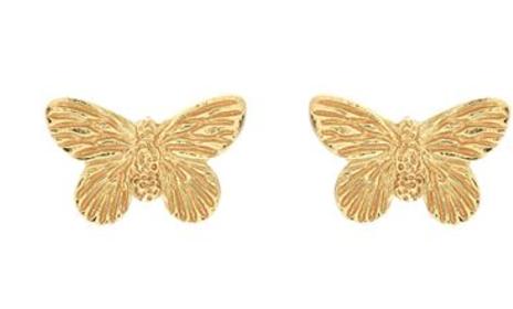 aretes, meghan markle, mariposas, princesa Diana