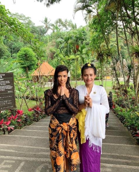 Kourtney Kardashian Indonesia octubre 2018