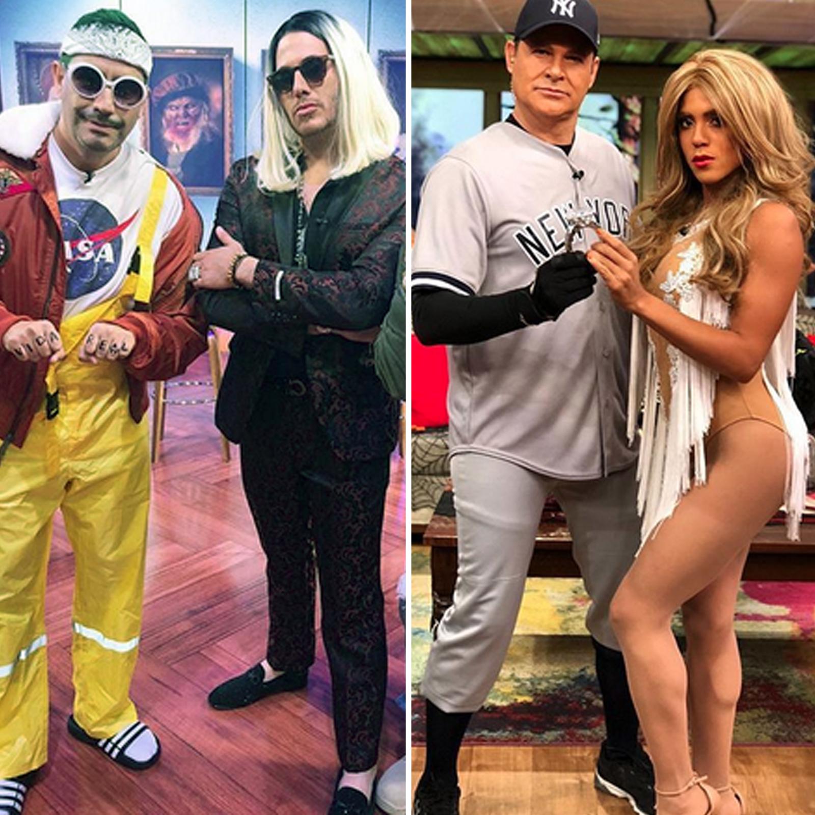 Telemundo vs Univision disfraz Halloween