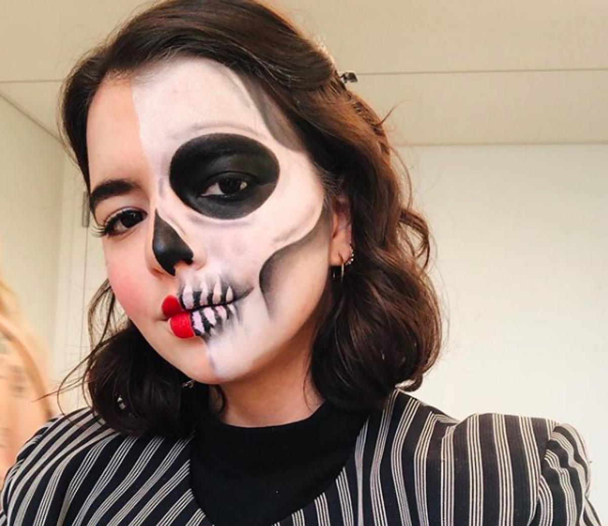 Halloween maquillaje, tutorial