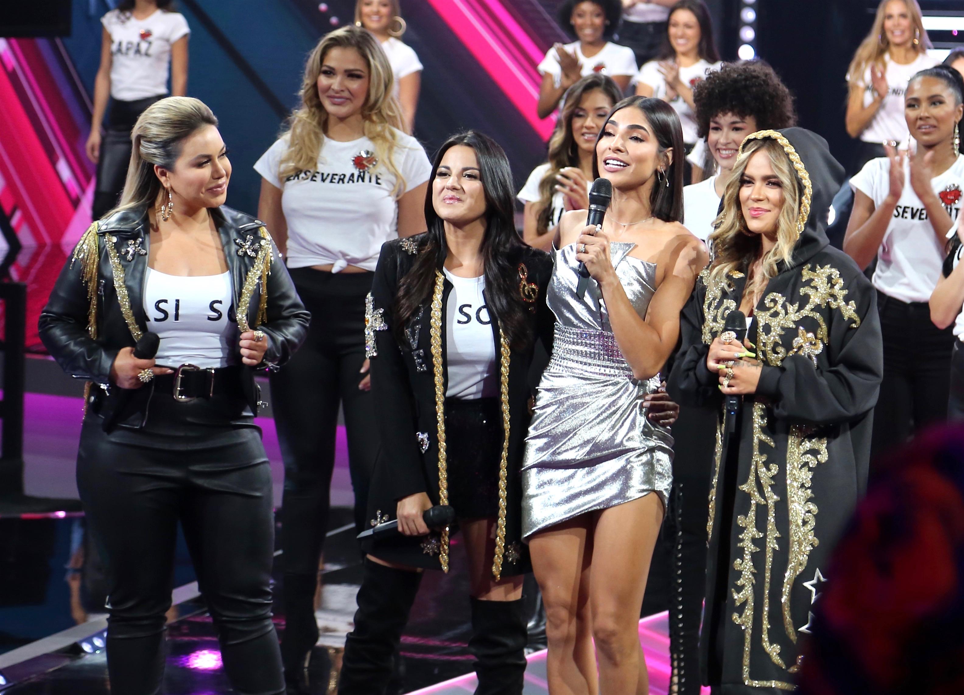 Alejandra Espinoza primera gala Nuestra Belleza Latina 2018
