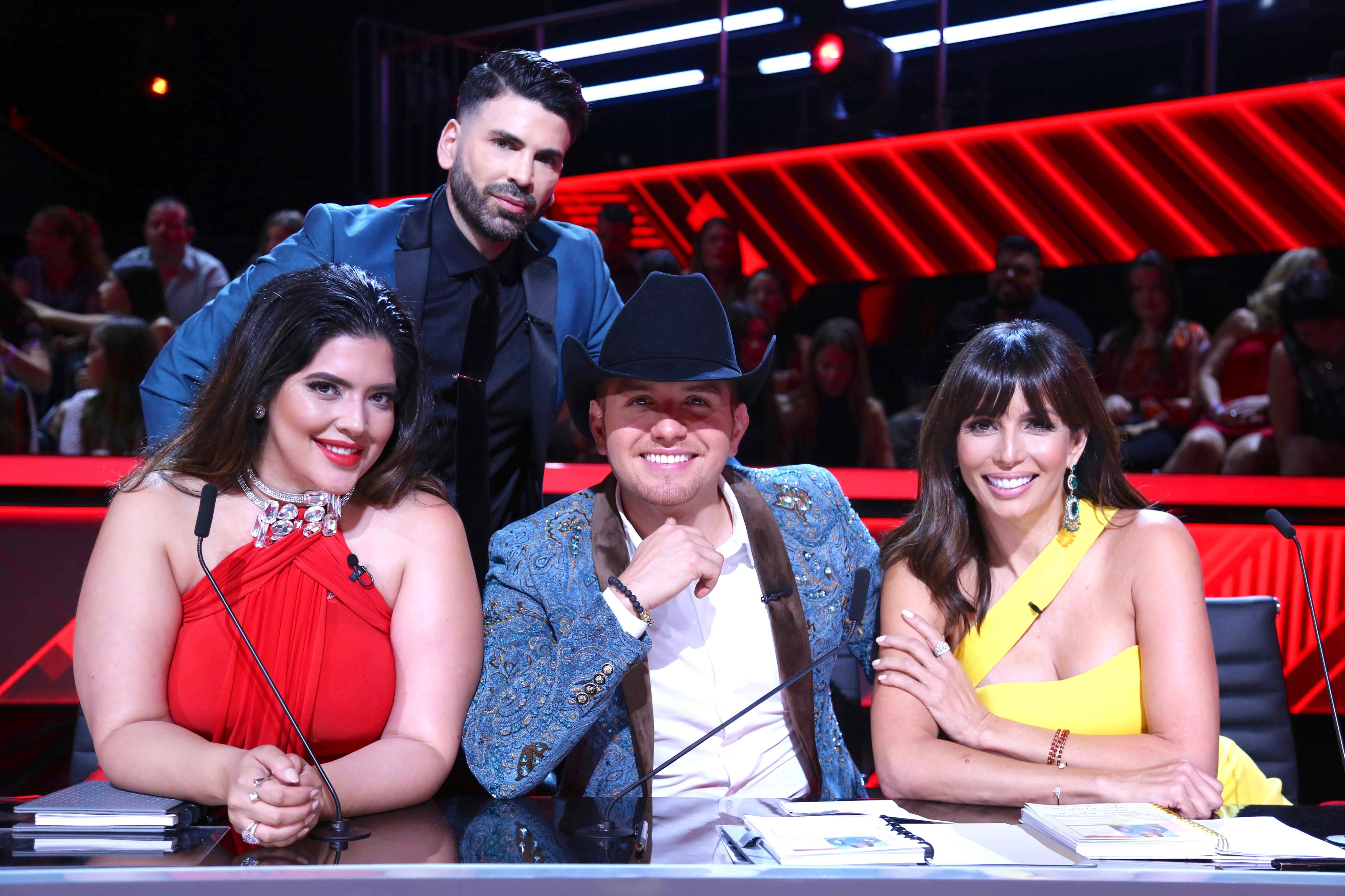 Denise Bidot, El Dasa, Giselle Blondet y Jomari Goyso