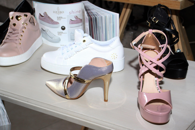 zapatos, coleccion, lucero, linea