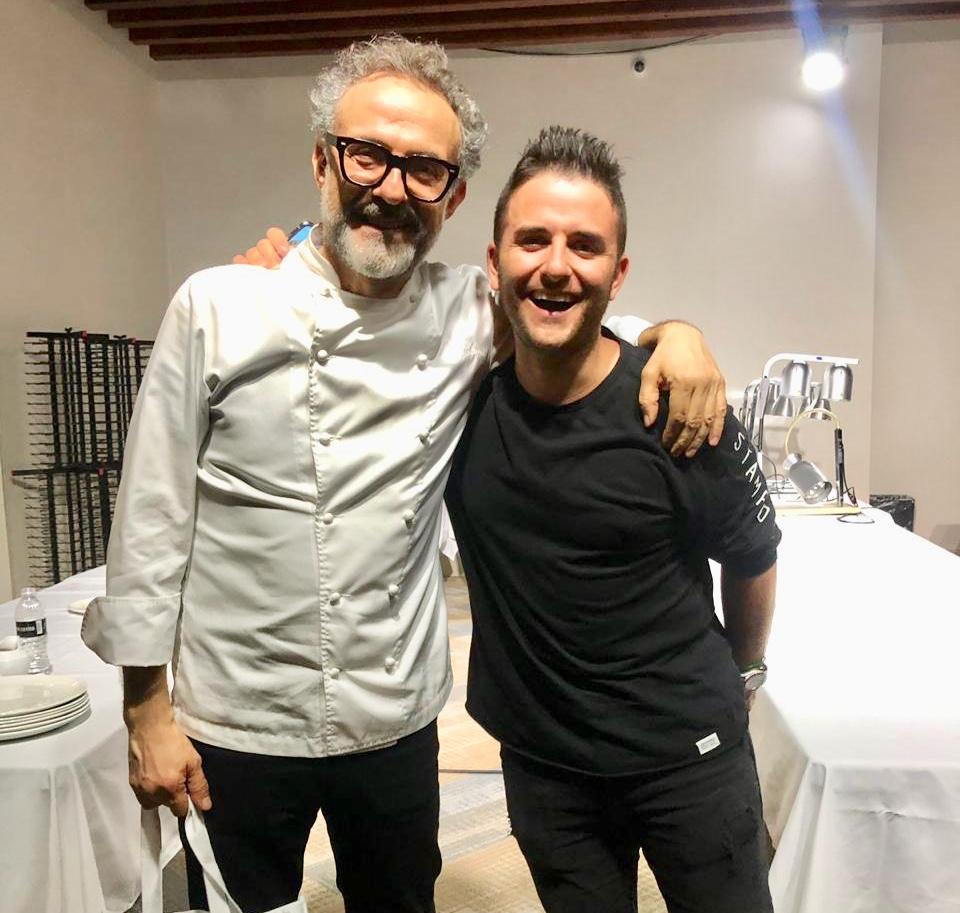 Massimo Bottura, Juan Manuel Barrientos
