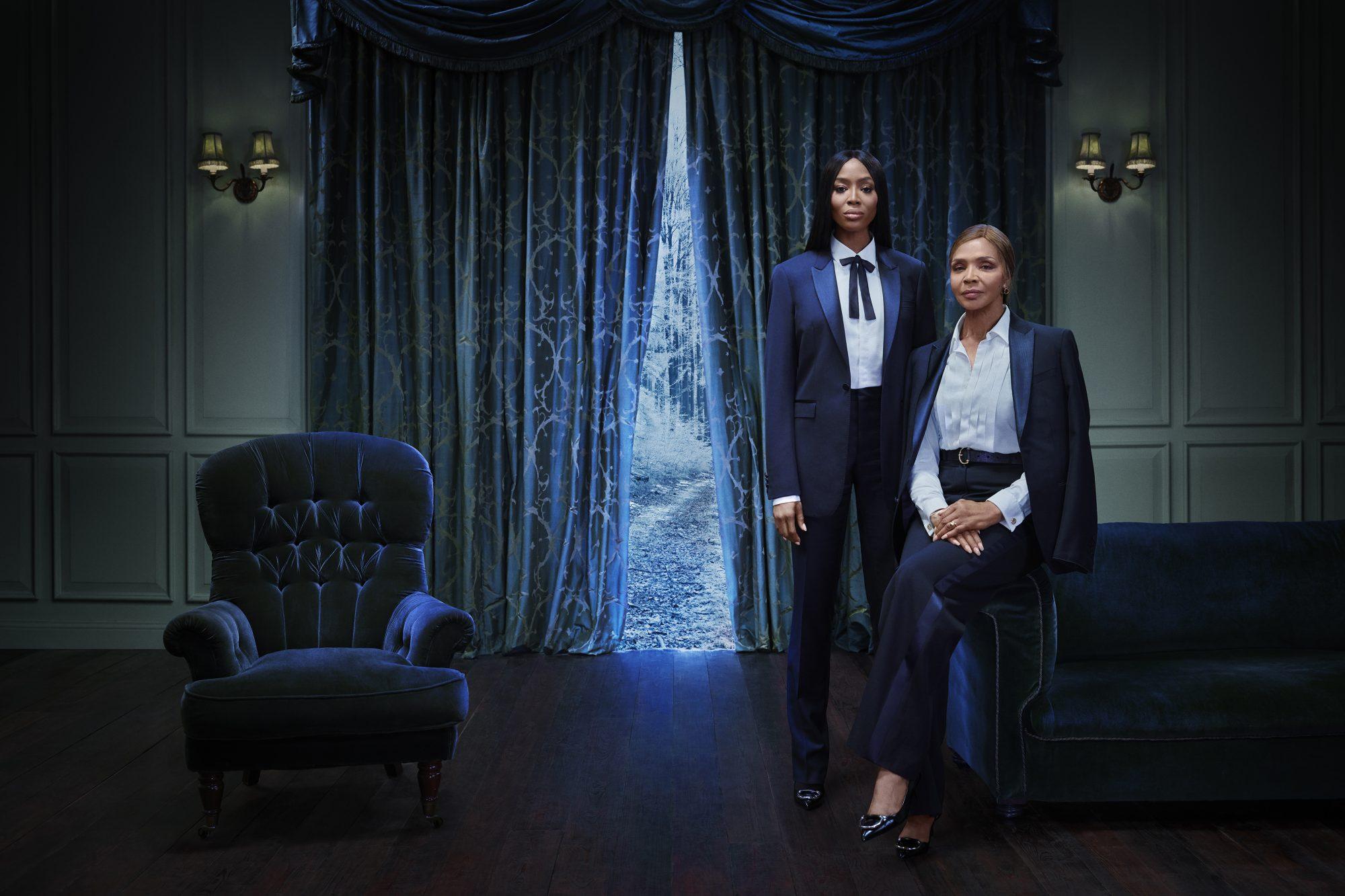 Naomi Campbell y su mamá - Burberry Campaign