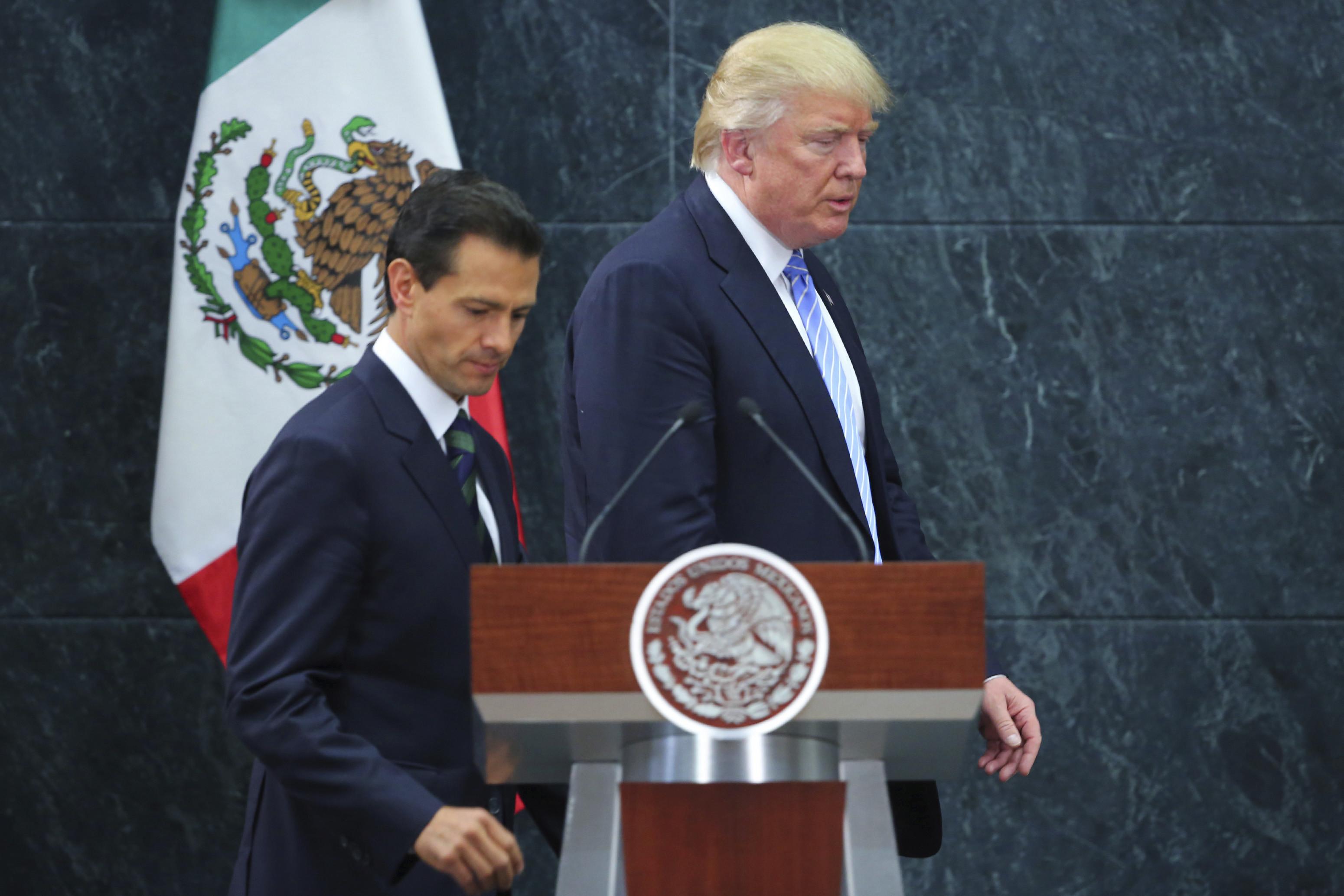 Enrique Peña Nieto Donald Trump