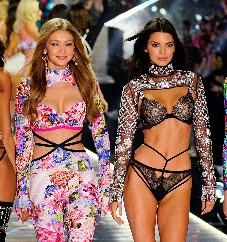 Victoria's Secret, Gigi Hadid, Kendall Jenner