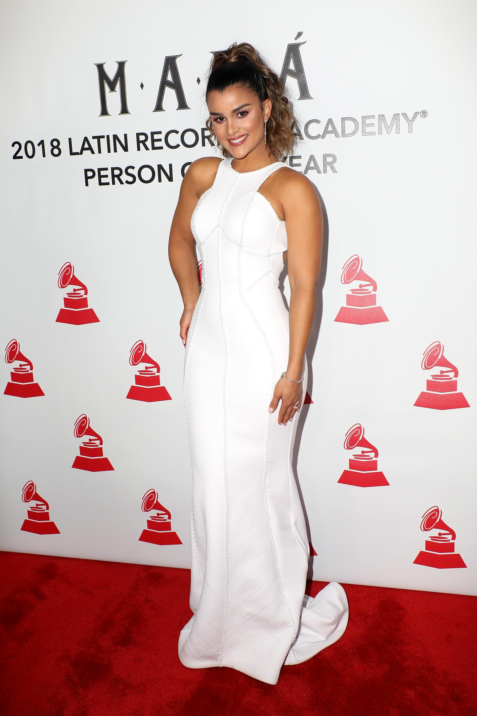 Clarissa Molina, look, persona del ano, latin grammy