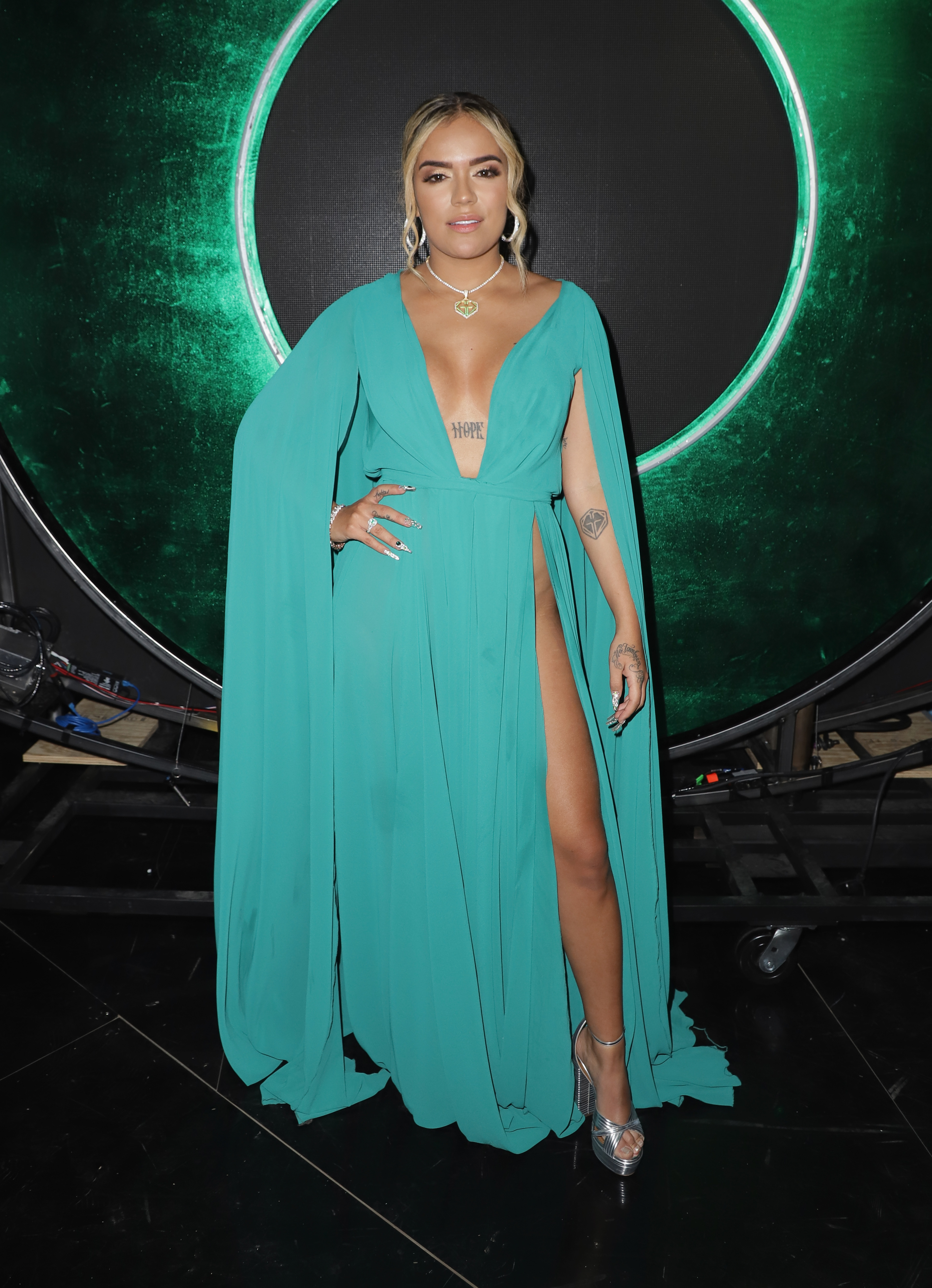 Karol G, look, latin Grammy