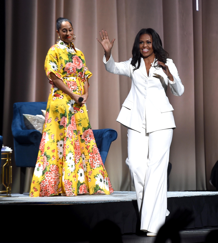 Michelle Obama, looks