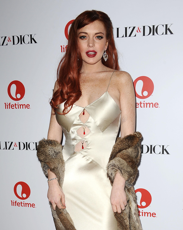 Lindsay Lohan, 2012
