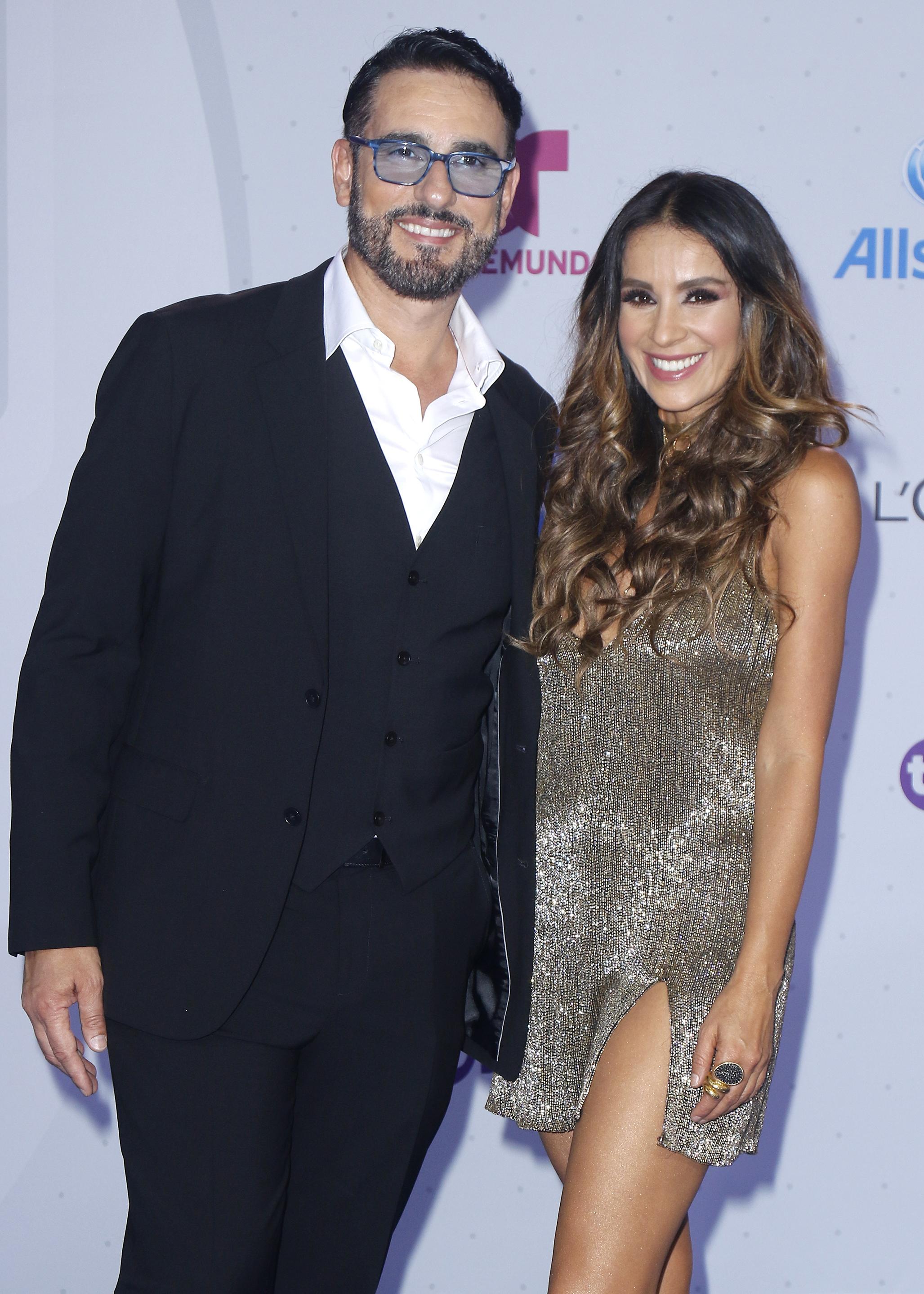Miguel Varoni y Catherine Siachoque