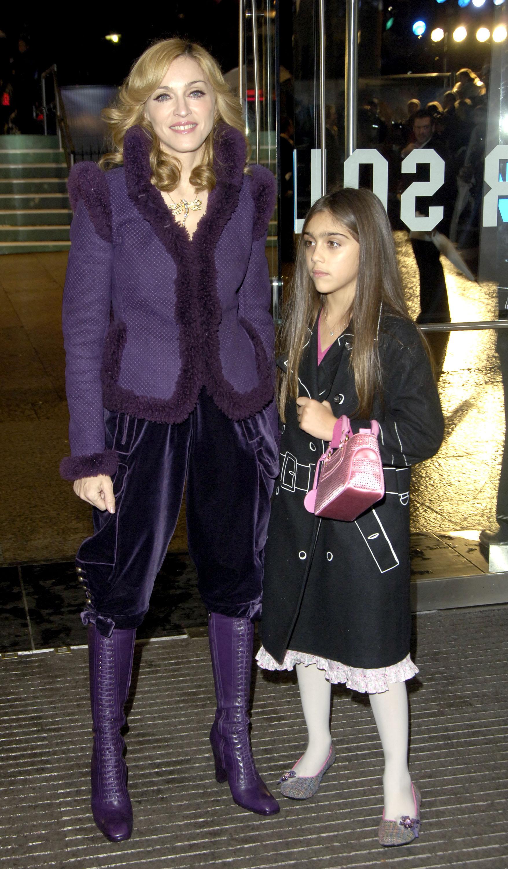 Madonna y Lourdes Maria Ciccone Leon
