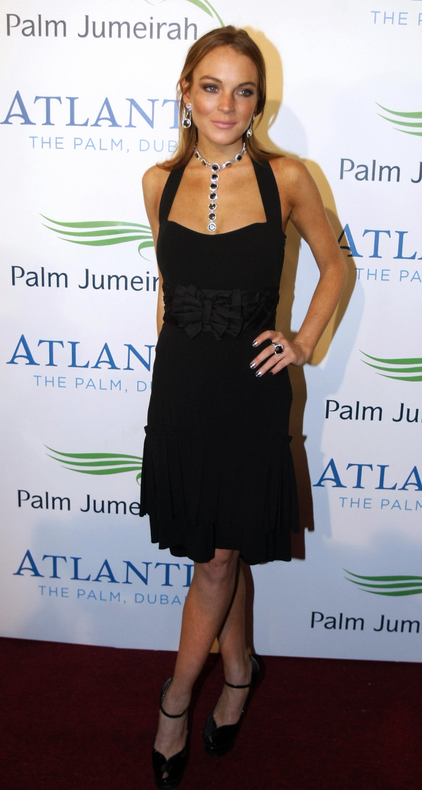 Lindsay Lohan, Atlantis Hotel