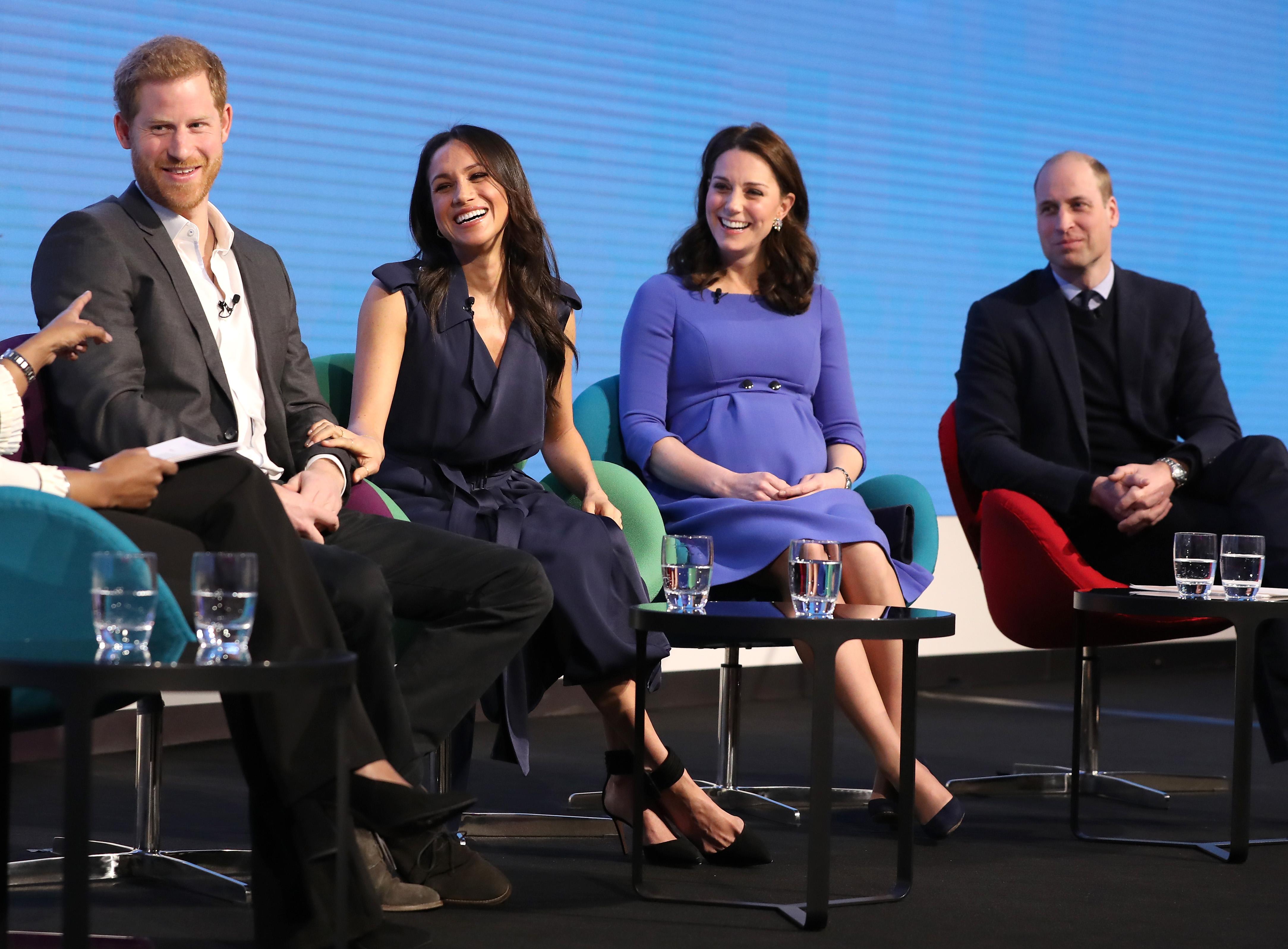 Prince Harry, Meghan Markle, Kate Middleton, Prince William,