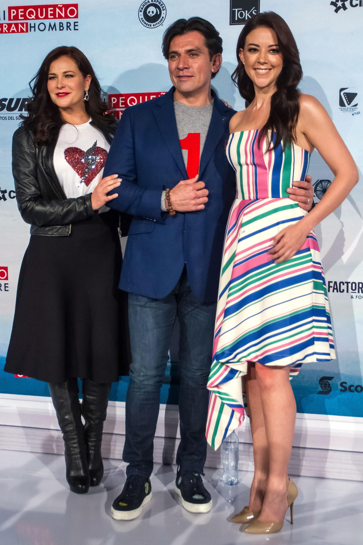 Arleth Terán Fernanda Castillo y Jorge Salinas