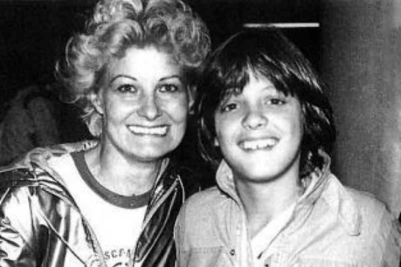 Luis Miguel y mama