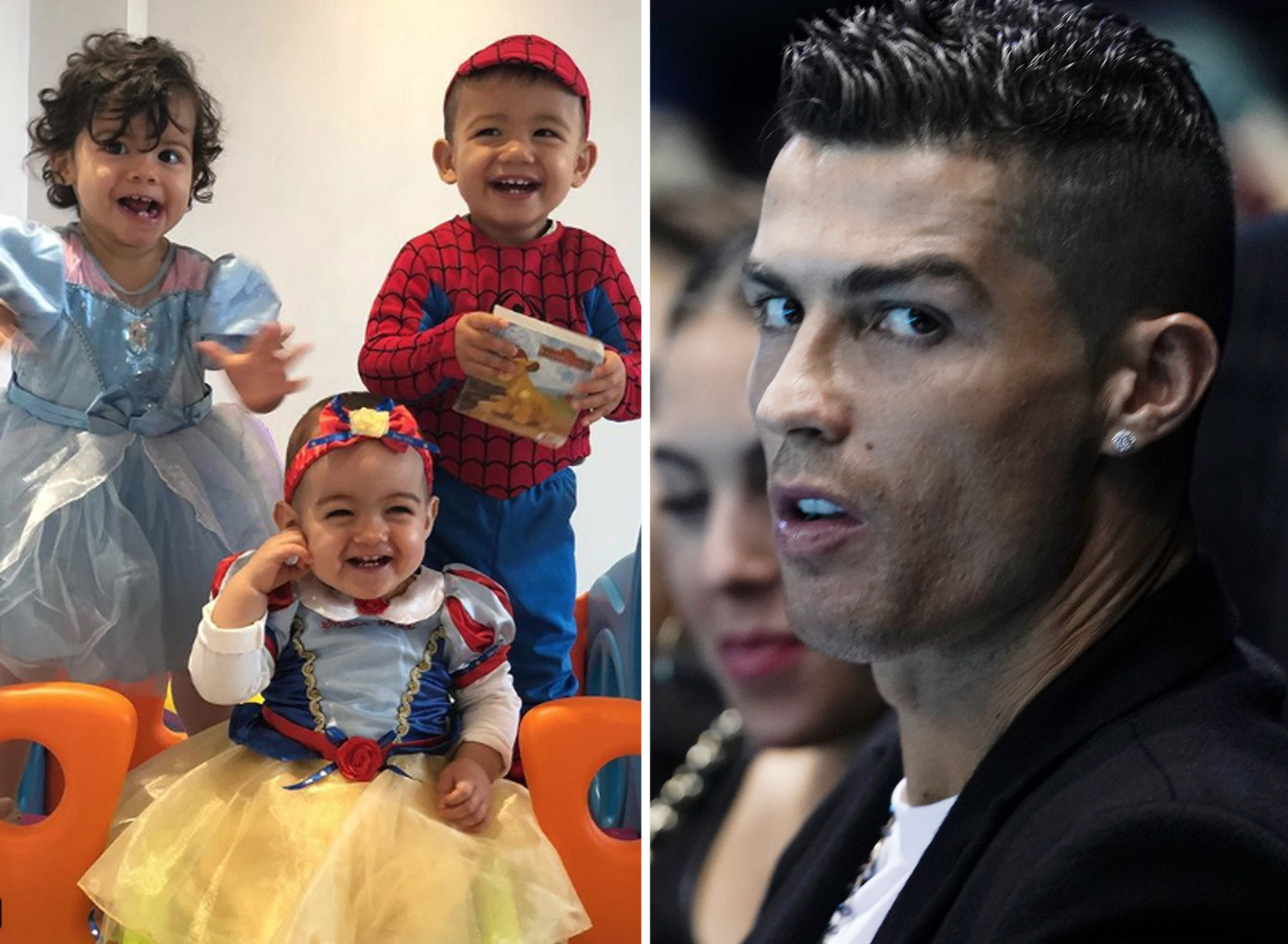 Alana Martina Mateo Eva Cristiano Ronaldo