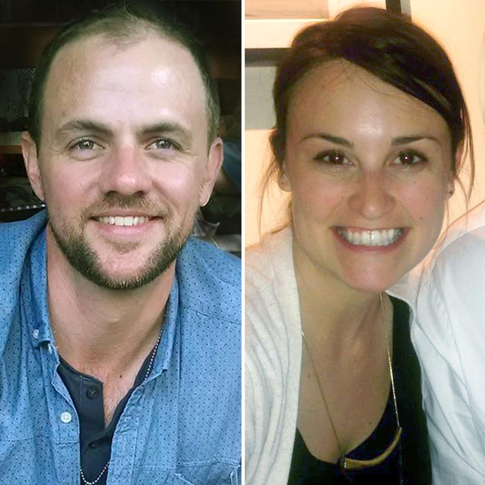 Joseph Kearney y Kate Schurtz