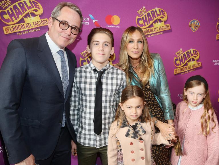 Sarah Jessica Parker y familia