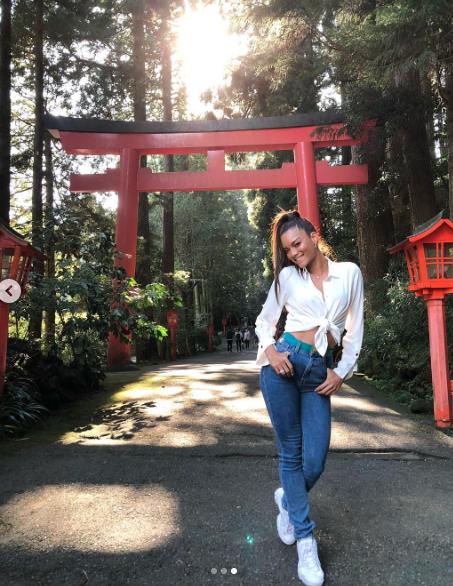 Zuleyka Rivera japón 2018