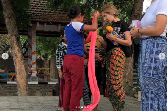 Carmen Aub/clases de inglés niños Bali/noviembre 2018