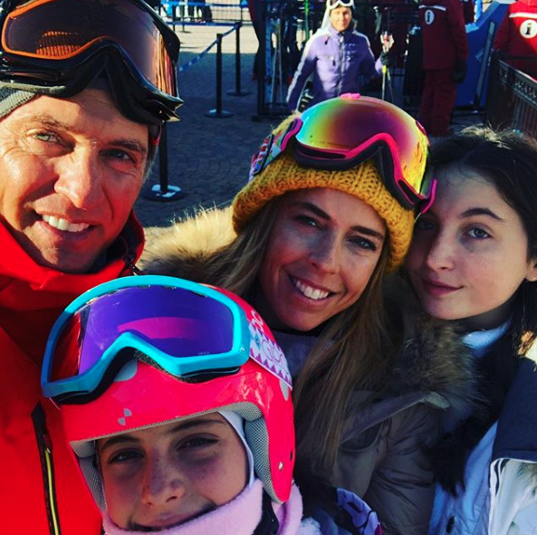Juan Soler, Maki Soler y sus hijas