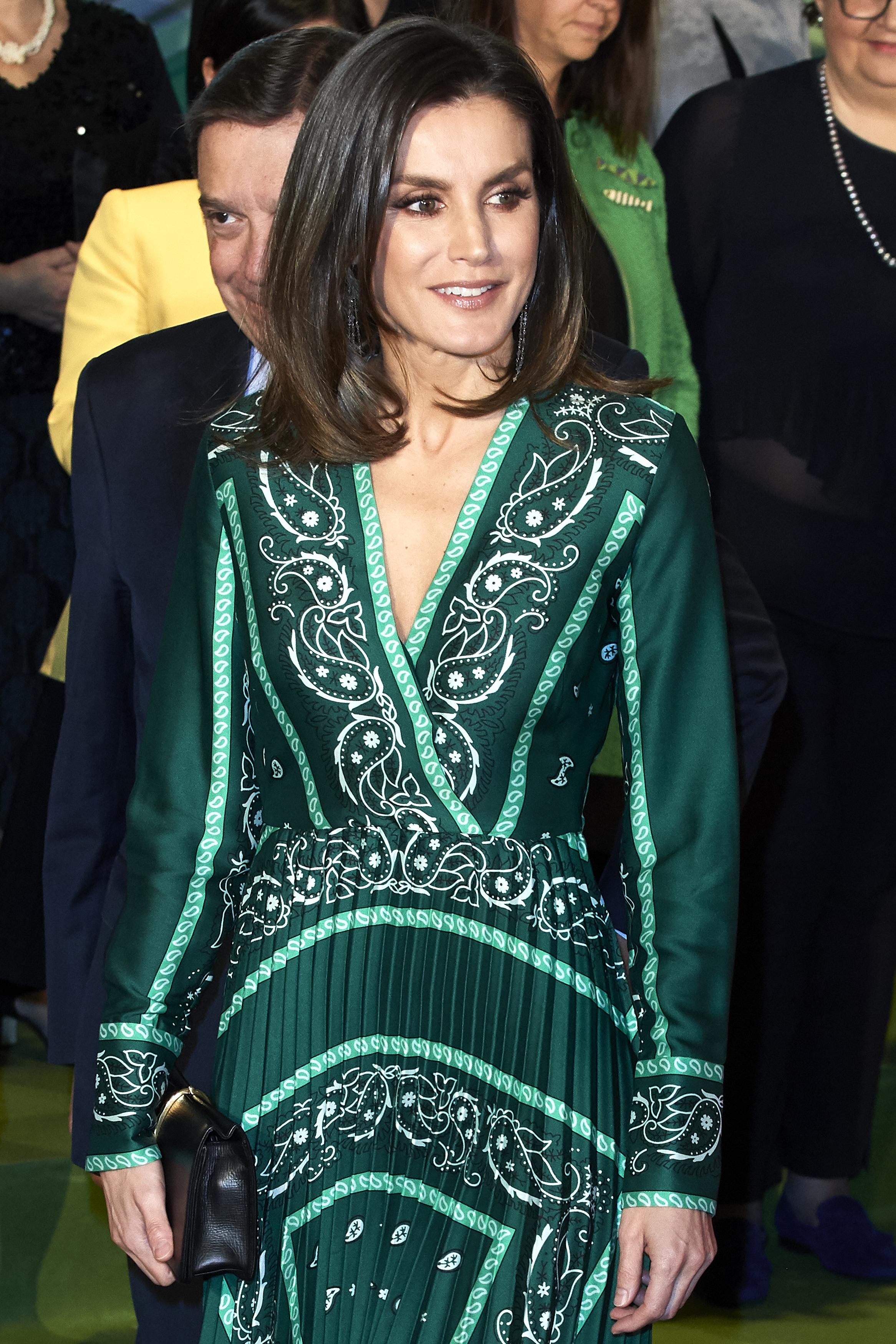 Queen Letizia Of Spain Attends The Closure Of AFAMMER International Congress