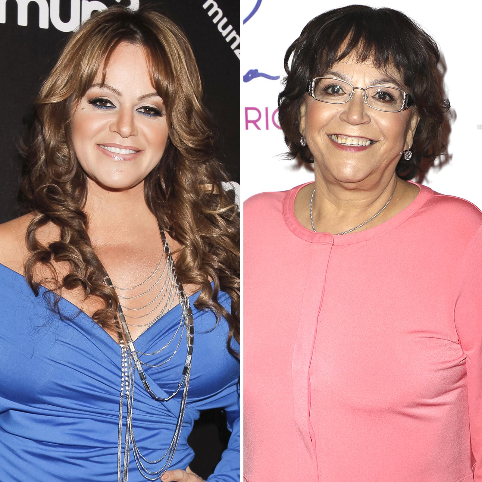 Jenni Rivera y su mamá Doña Rosa Rivera