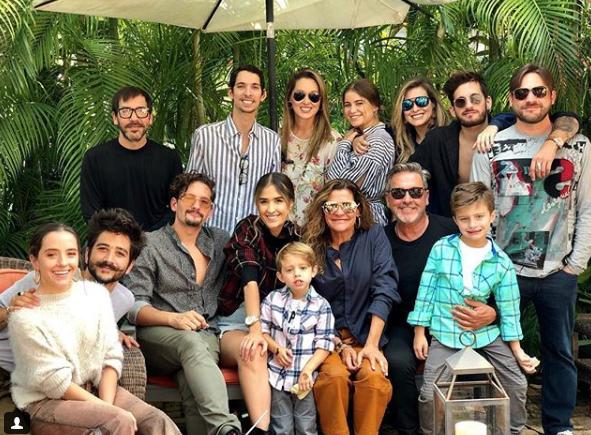 Ricardo Montaner y familia