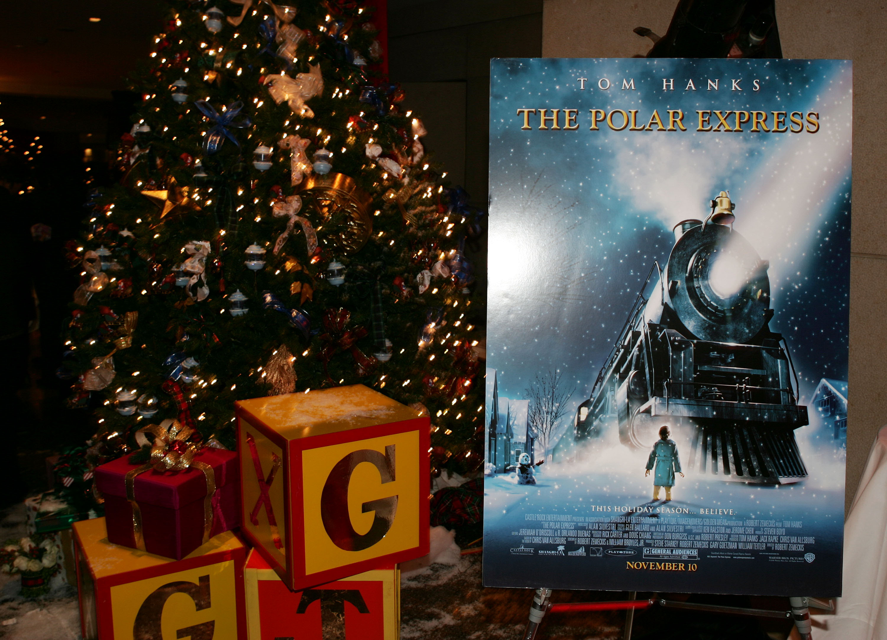 """After Party For The Premiere Of """"The Polar Express"""""""