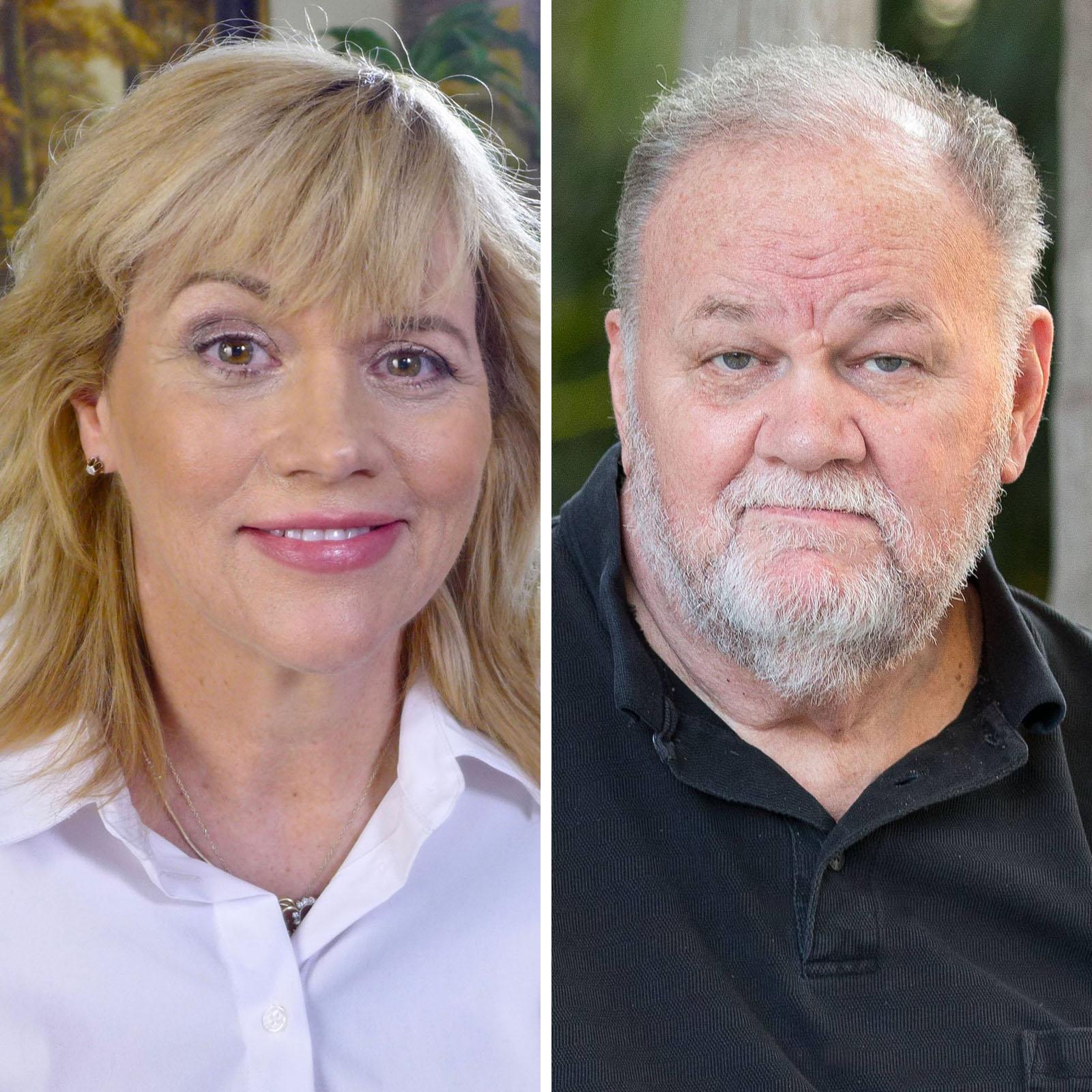 Samantha Markle y Thomas Markle