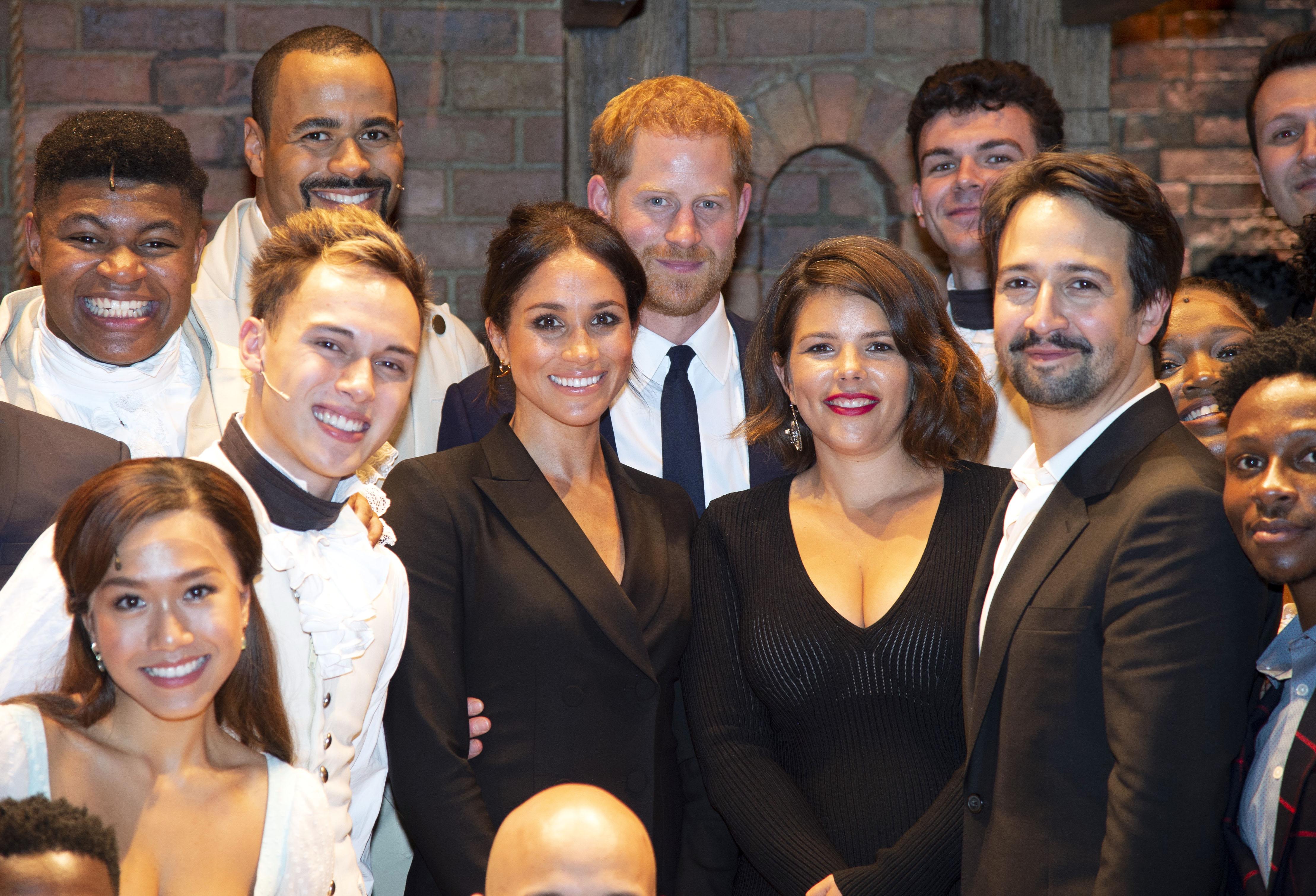 Prince Harry, Lin Manuel Miranda, Meghan